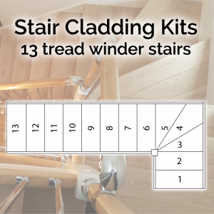 13 Tread Winder Stairs
