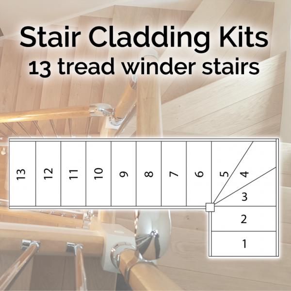 13 Tread Winder Stairs