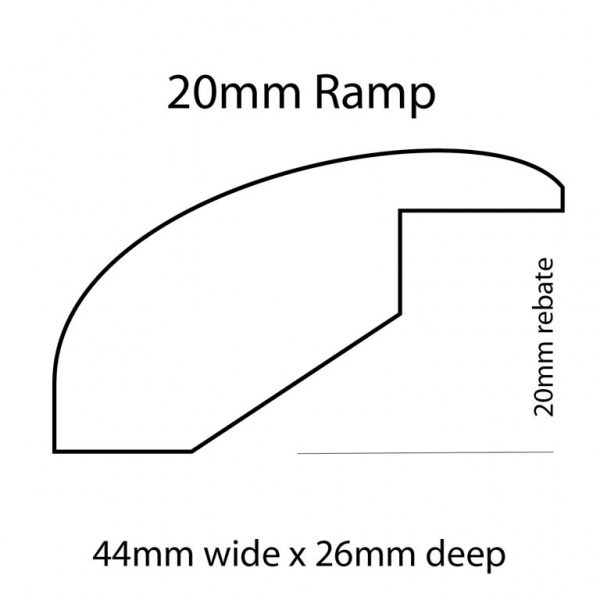 20mm Ramp Line Drawing
