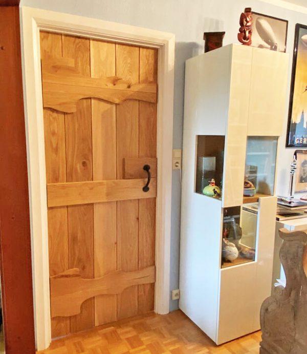 Heritage Abbey Oak Rustic Door