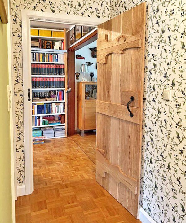 Abeey Heritage Oak Ledged Doors