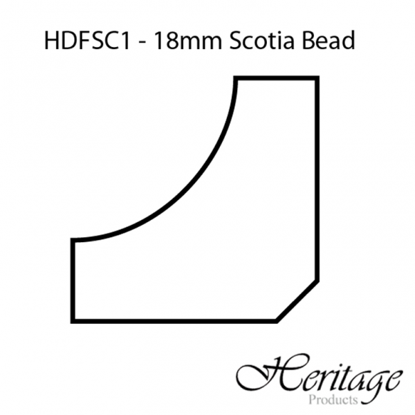HDFSC1 18mm Scotia Bead