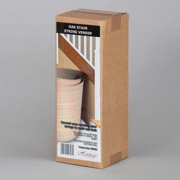 Oak String Veneer Packaged Web