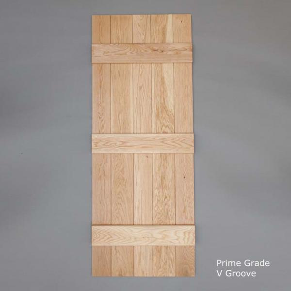 Prime V Grooved Ledged Door Rear Web
