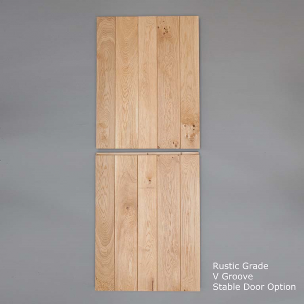 Rustic V Groove Stable Door Closed Web