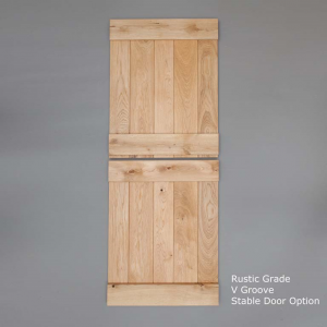 Rustic V Groove Stable Door Rear Web