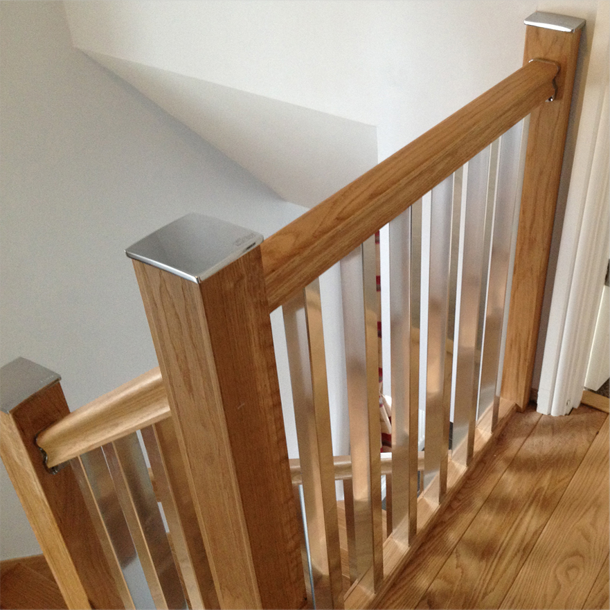 Glass Staircase Balustrade Kit: The Heritage Collection