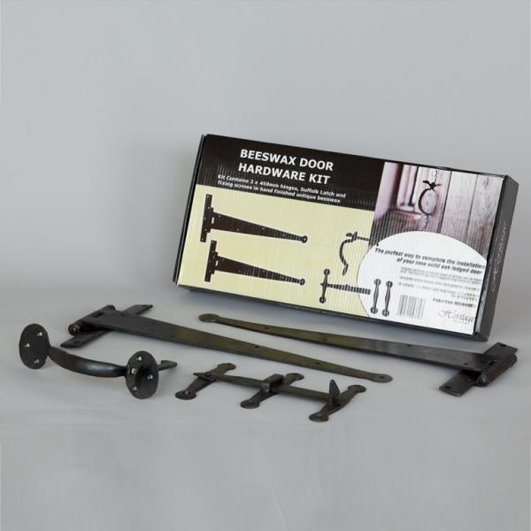 Beeswax Door Hardware Kit