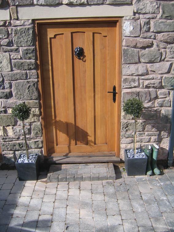 Cardinal Oak External Door