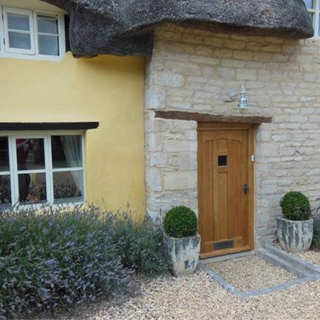 Cardinal Solid Oak Door