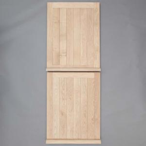 Framed Ledged Oak Exterior Stable Door