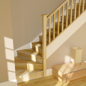 Pine Stairparts, Newel Caps & Handrails