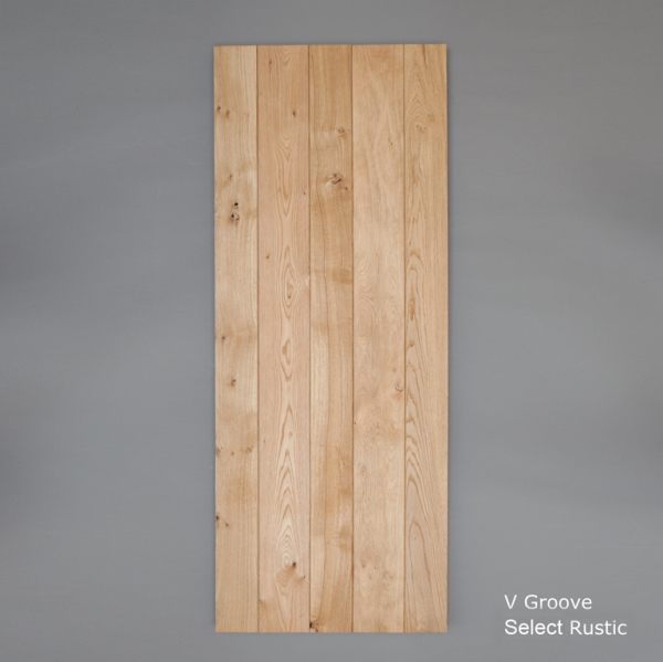 Select Rustic V Grooved Ledged Door Web