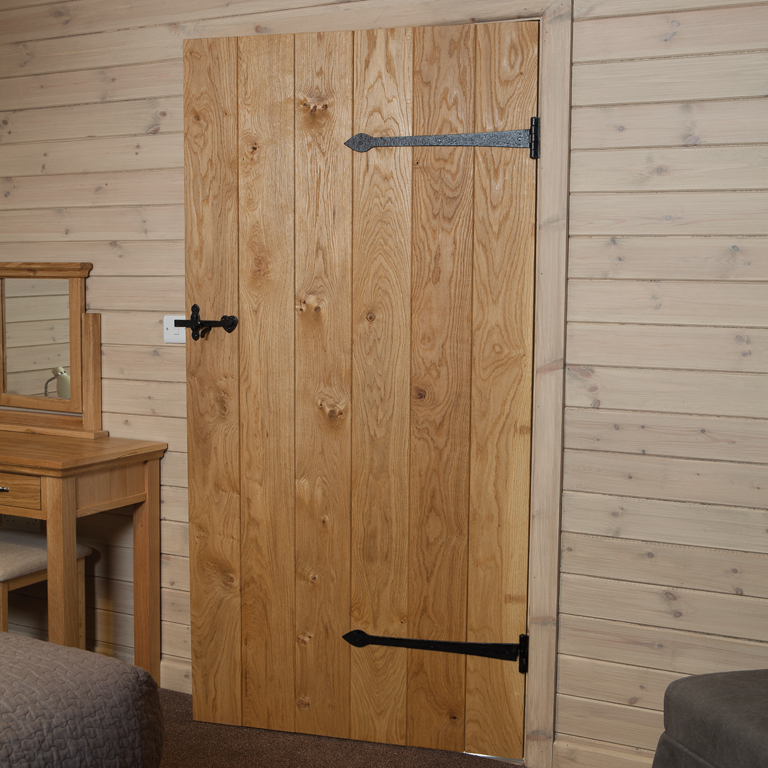 V Grooved Oak Ledged Doors The Heritage Collection