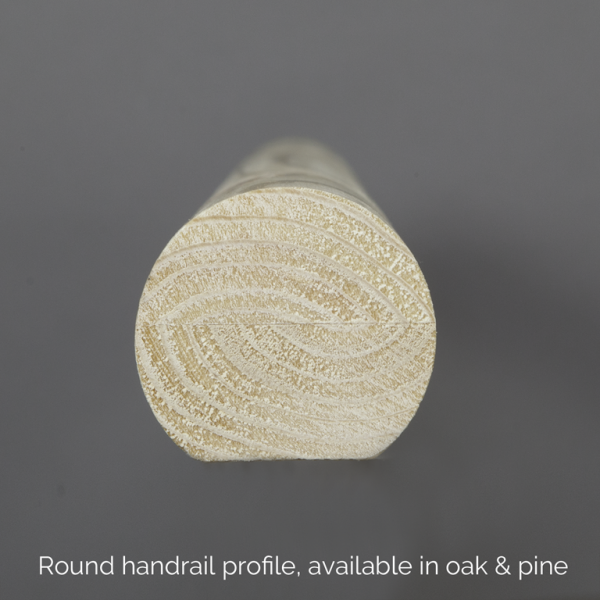 Round Handrail Profile