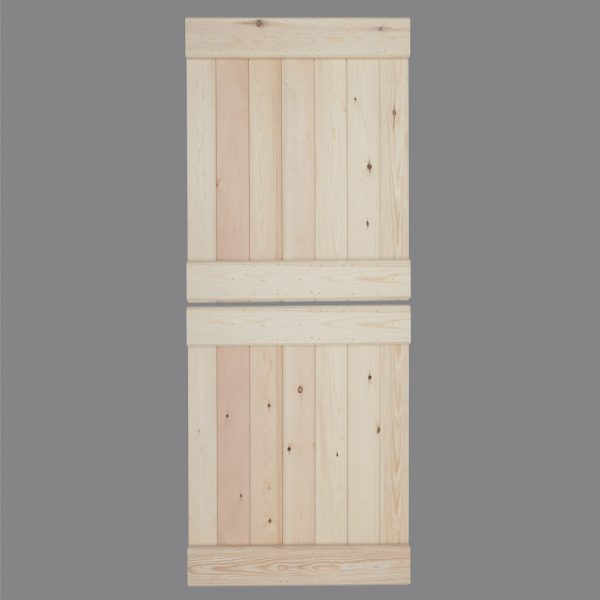 V Groove Pine Stable Ledged Door Rear Web