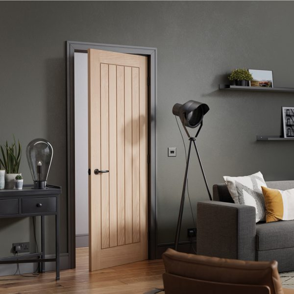 Mexicano Oak Engineered Door