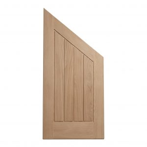 Mexicano Angled Oak Engineered Door