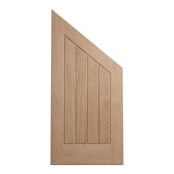 Mexicano Angled Oak Engineered Door