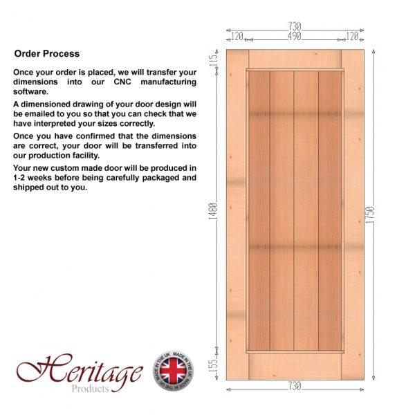 Engineered Oak Doors Order Process