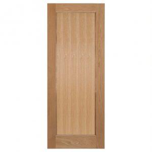 Oak Pattern 10 Shaker Style Custom Size Doors