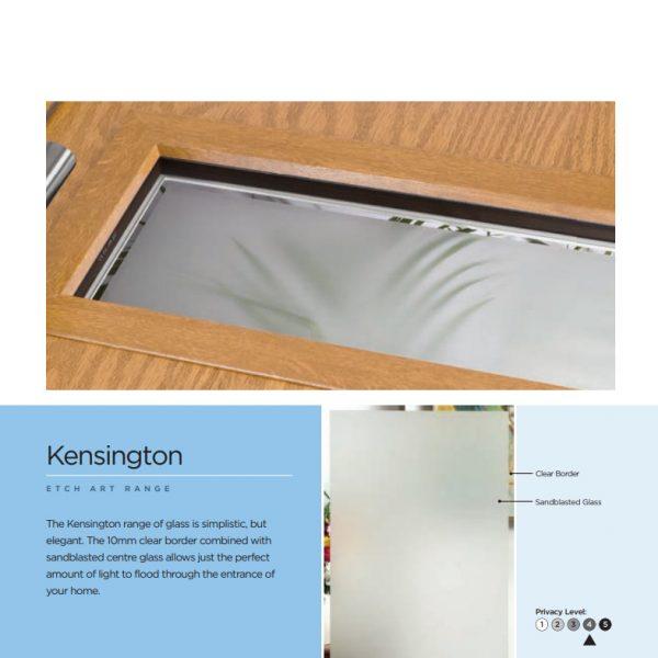 Kensington Glass Description