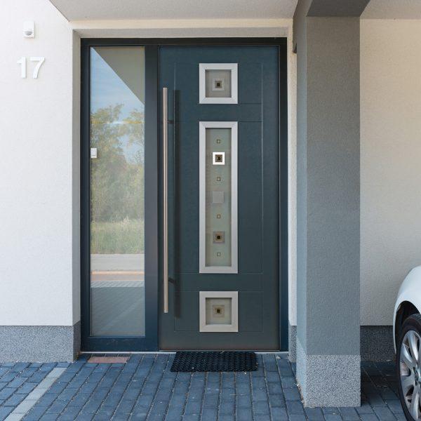 Stockholm Door with Tahoe Glass