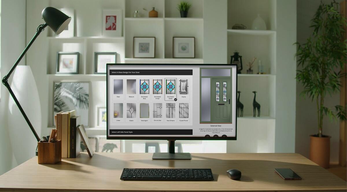 Online Door Designer Banner | The Heritage Collection