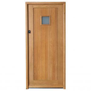 Solid Oak Mexicano Doorset