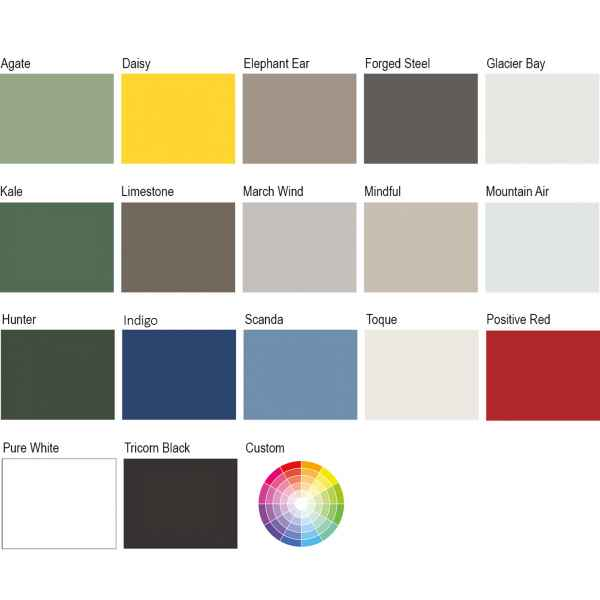 Solid Opaque Colour Swatch