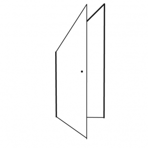 Angled Left Open Ou