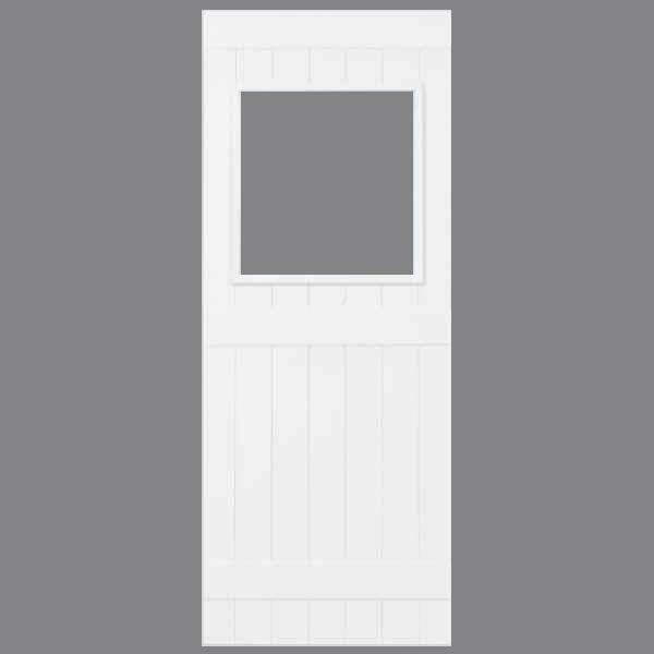 White Unglazed - Gray Background